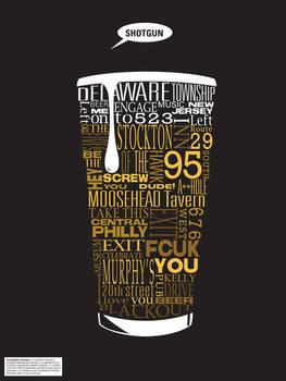 Typographic Beer Directions