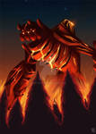 Commission - Magma Giant