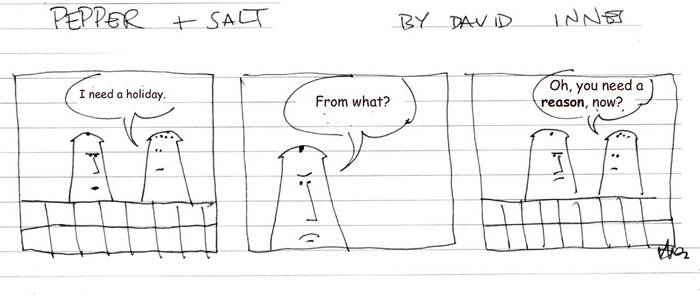 Pepper and Salt - Issue 09