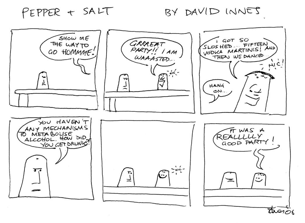 Pepper and Salt - Issue 11 by theoldbean