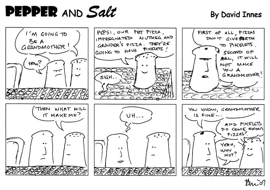 Pepper and Salt - Issue 40 by theoldbean