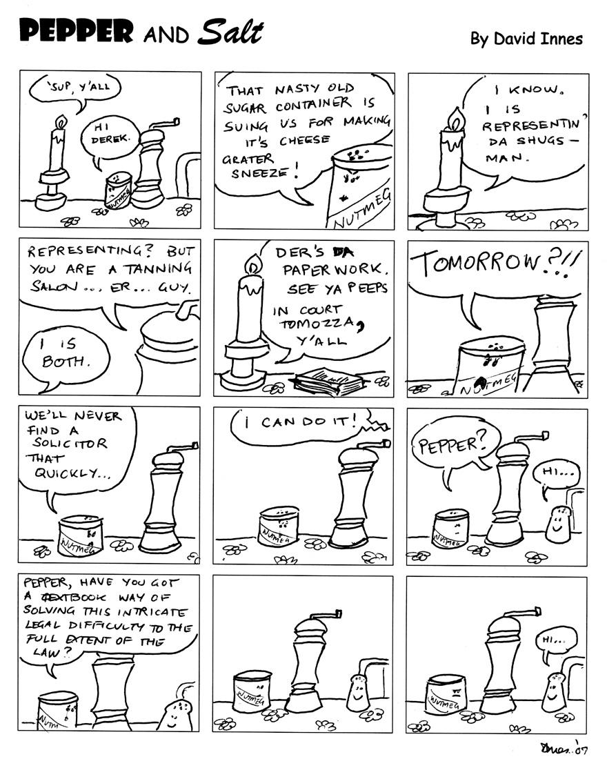 Pepper and Salt - Issue 57 by theoldbean