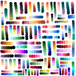 Mmany Color pallets