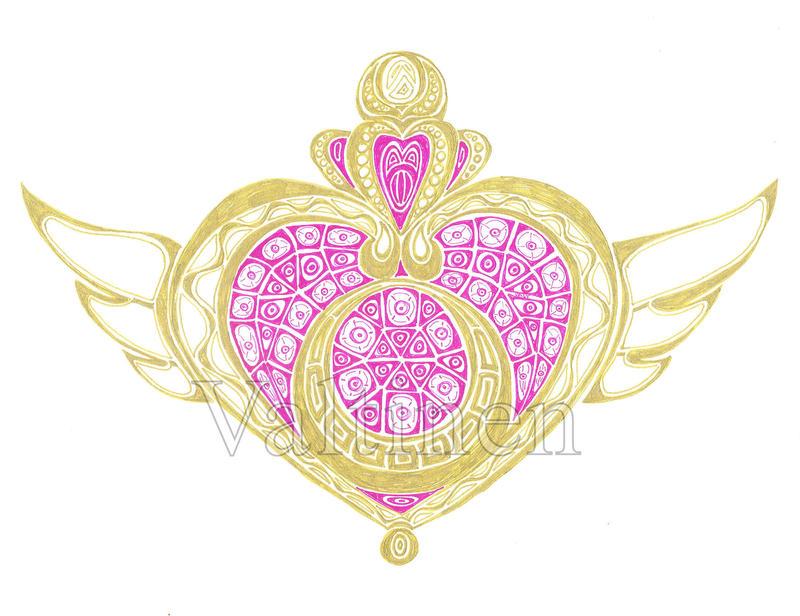 Sailor Moon Symbol By Erikangelofmusic On Deviantart