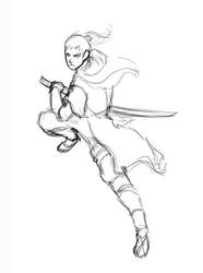 Sekiro Fan art / Sketch by Juanjosexd