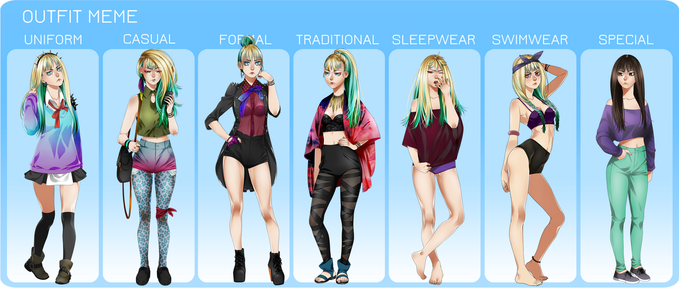 X Girl Clothing [MM] Outfit Meme by Ee...