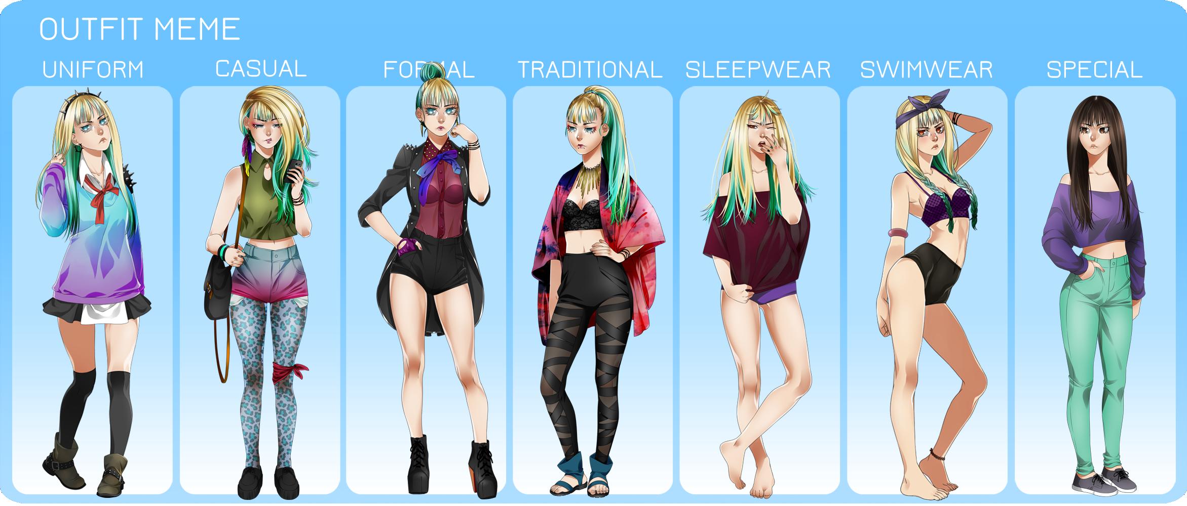 Outfit Meme by Eeriah