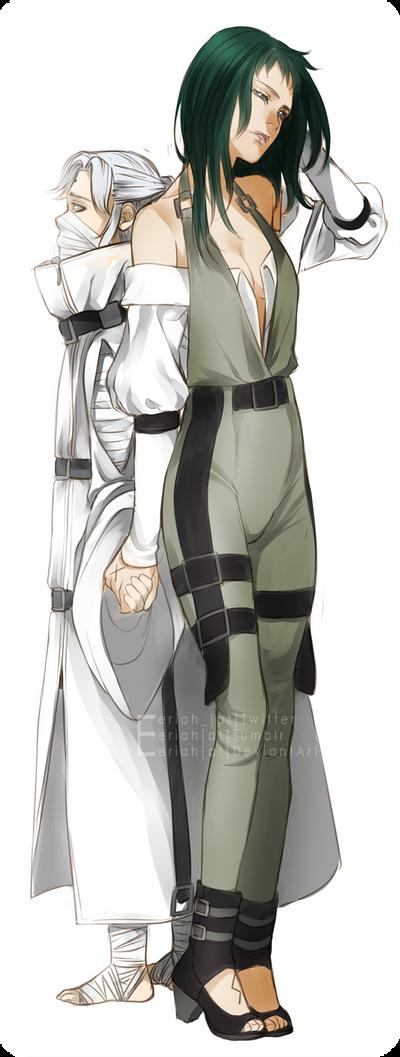 [C] Hiruko and Io by Eeriah