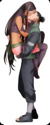 [C] Sayuri and Shikamaru by Eeriah