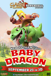 How to train your BABY DRAGON by Fabyanou