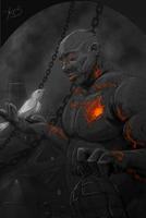 Watchmen of Ankh-Morpork - Dorfl by Zhorez1321