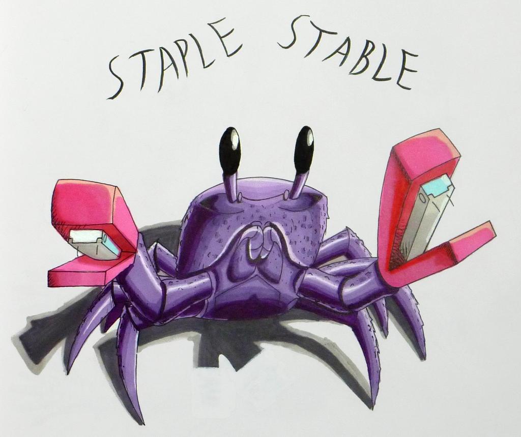 Hitagi Crab (Literally :3) by Vasilivros