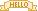 Hello Banner by 22-bit
