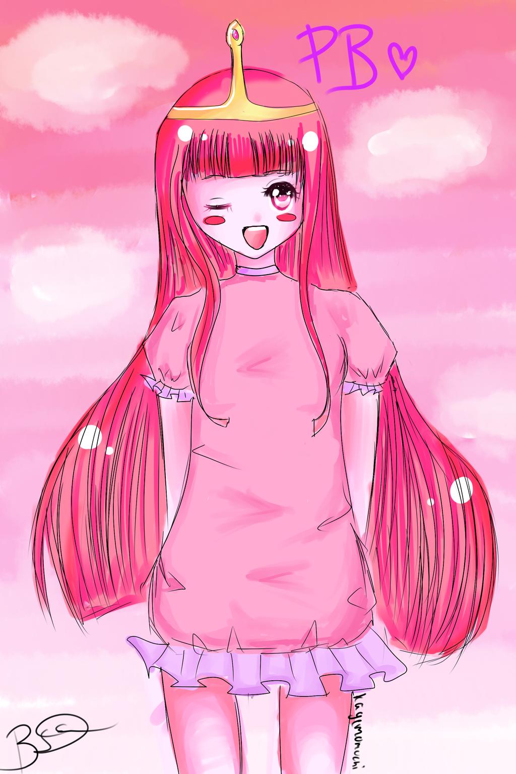 Princess BubbleGum(adventure time) by kagemomochi on ...