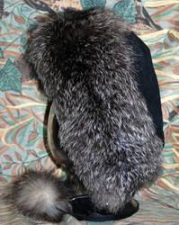 Silver Fox Bonnet 1 by Wolfwoman7