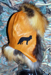 Red Fox Fur Trapper Hat by Wolfwoman7
