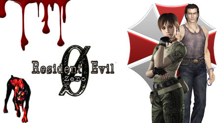 Resident evil 0 Wallpaper by Rebeccamines