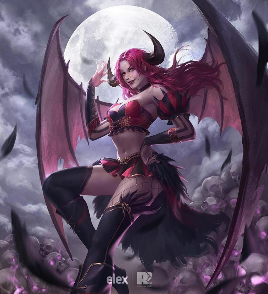 AOK-Astaroth by redpencilart
