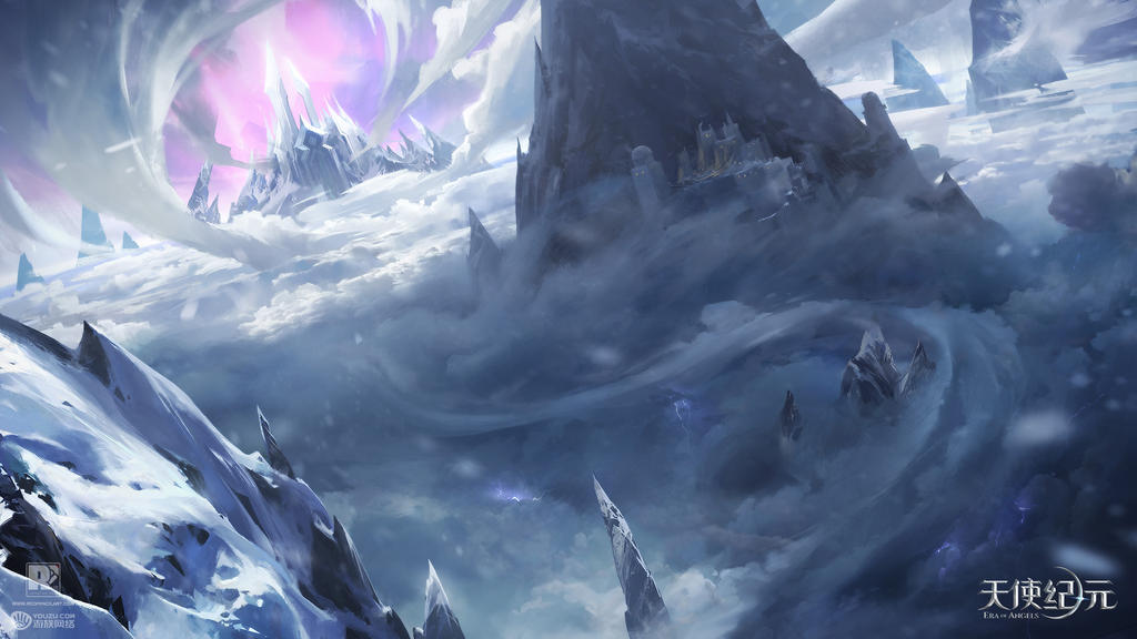 ColdWinterValley by redpencilart