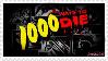 1,000 Ways to Die Stamp by CupcakeAttack85