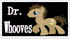 Dr. Whooves Stamp 1 by CupcakeAttack85