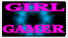 Girl Gamer Stamp by CupcakeAttack85