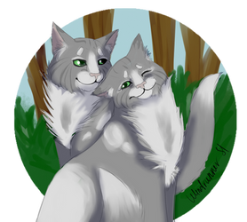 Mousewhisker and Hazeltail