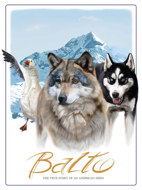 balto poster by brownni123 on deviantart