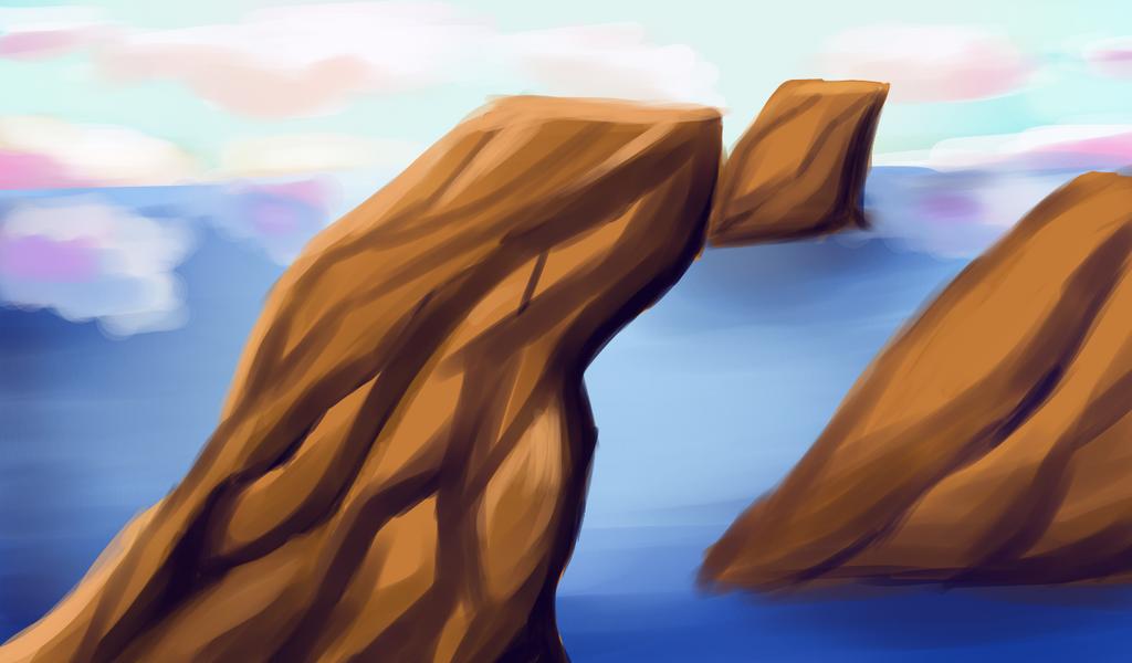 Ocean scape by LinLin-Senpai