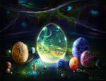 Easter Eggs (in a parallel universe)