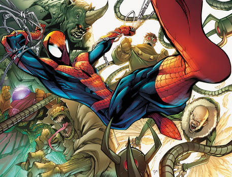 Spider Man and Sinister Six
