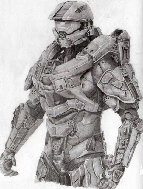 Dibujos de master chief - Imagui