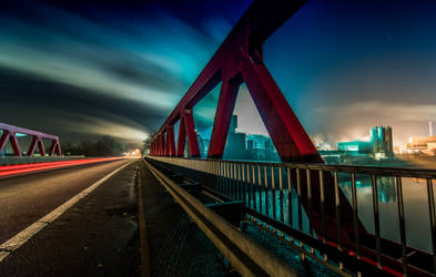 Bridge Hamm I by wolfgangbuhr