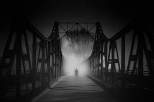 Bruecke in der Nacht by wolfgangbuhr