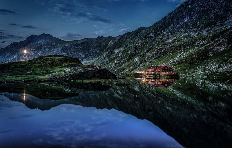 Balea Lac by wolfgangbuhr