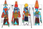 4 hot gods of Ancient Egypt I