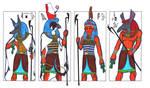 4 hot gods of Ancient Egypt II