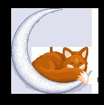 Foxy Moon by SmallFisher