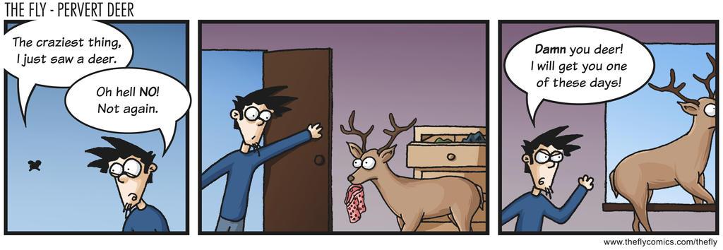 The Fly - Pervert Deer