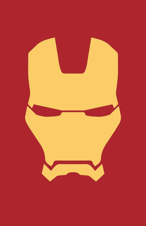 How To Draw The Iron Man Logo