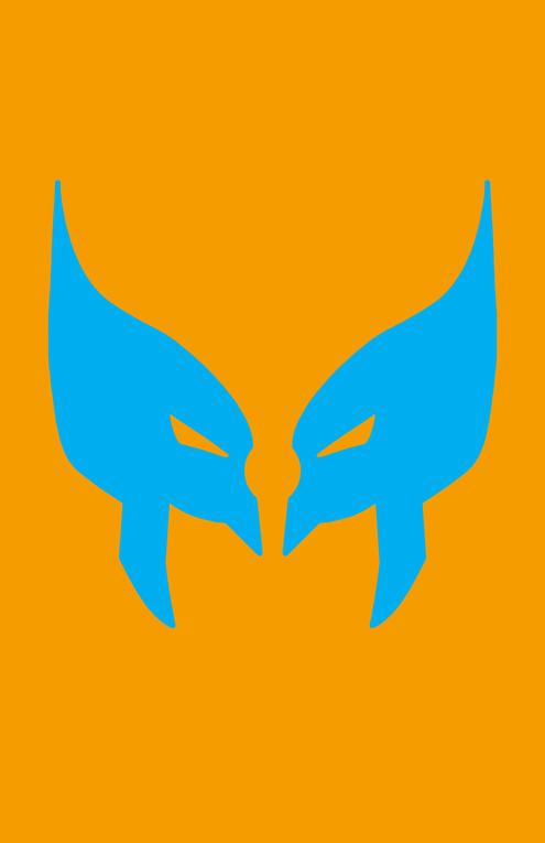 Wolverine Mask Minimalist Design by burthefly