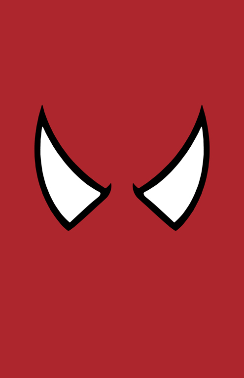 Spider-Man Mask Minimalist Design by burthefly