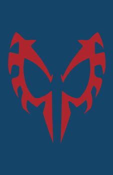 Spider-Man 2099 Mask Minimalist Design