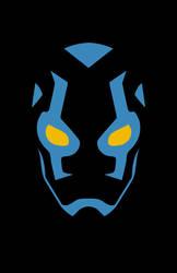 Blue Beetle Minimalist Design by burthefly