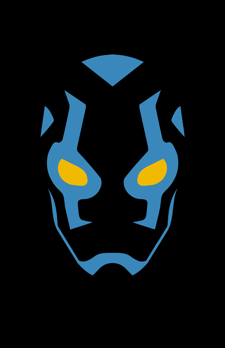 Blue beetle minimalist design by burthefly on deviantart for Minimalist art design