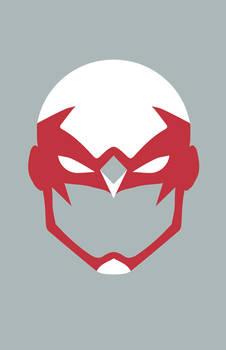 Hawk Mask Minimalist Design