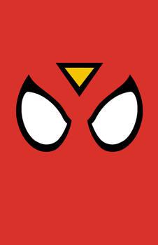 Spider-Woman Mask Minimalist Design