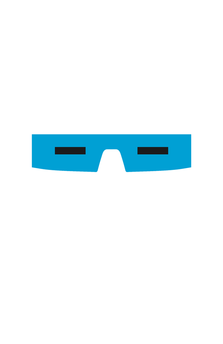 Captain Cold Mask Minimalist Design by burthefly