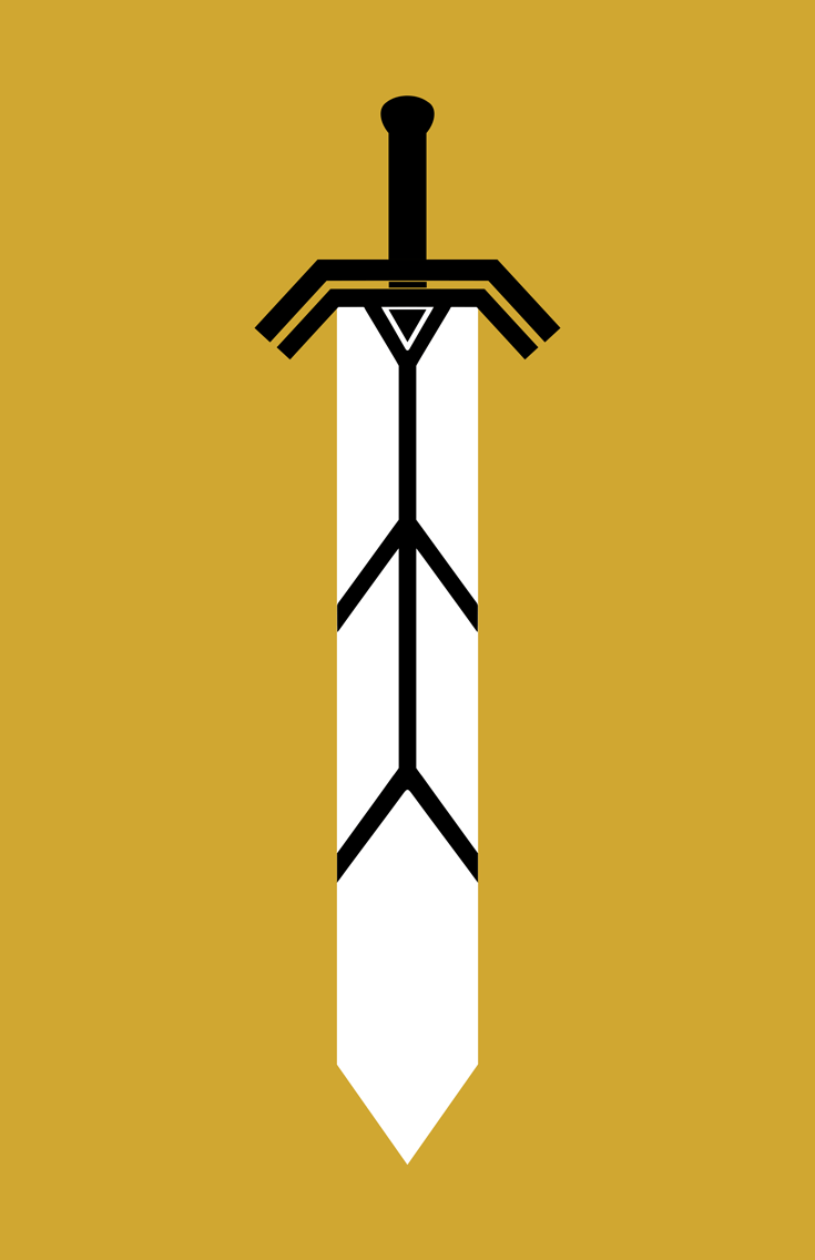 Magik Weapon Minimalist Design by burthefly