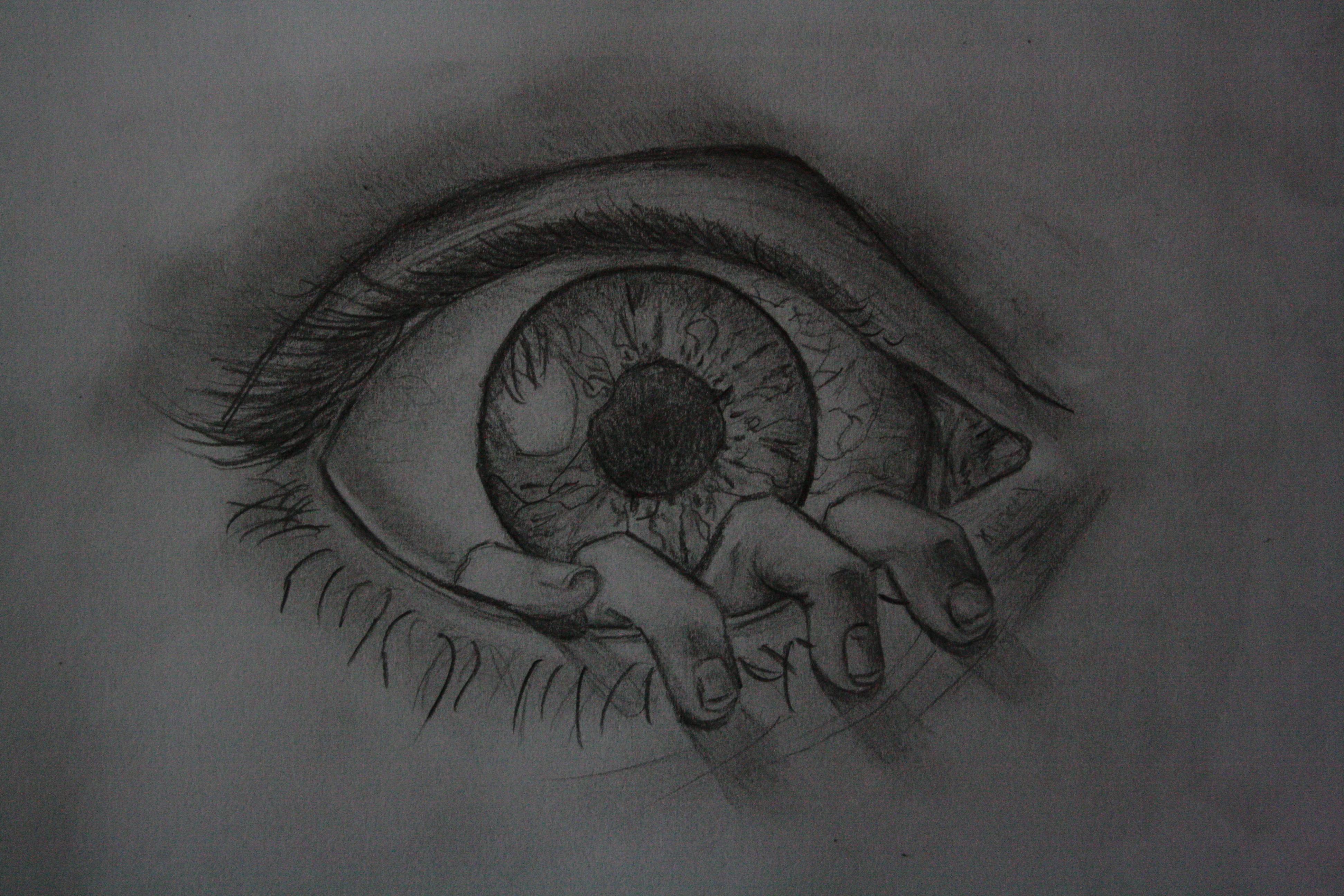 The eye by Rolinkaa